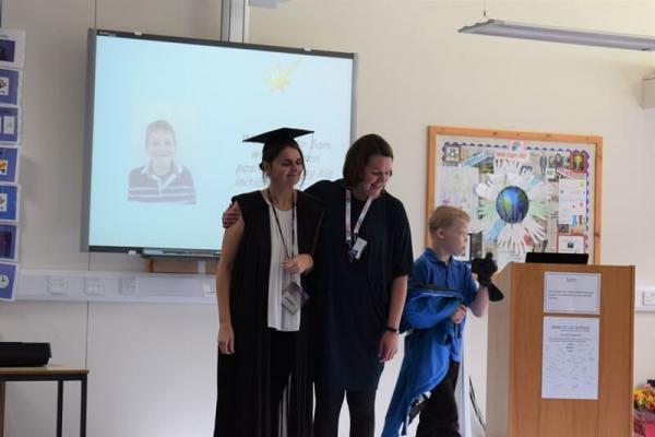 Eileen's Graduation Assembly