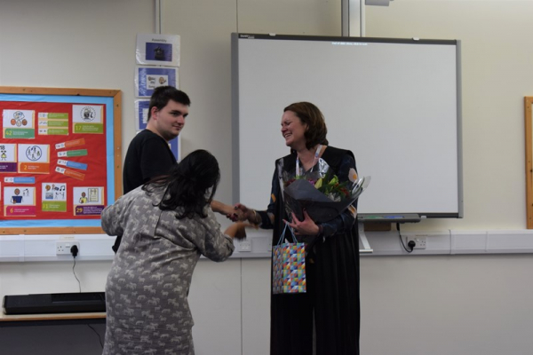 Jasmine's last assembly
