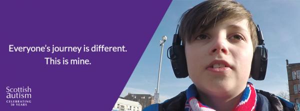 Scottish Autism World Autism Awareness campaign- The Journey