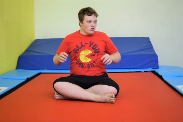 Rebound Therapy at New Struan School