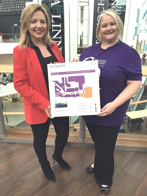 St Enoch goes above and beyond for Scottish Autism as their successful partnership comes to an end