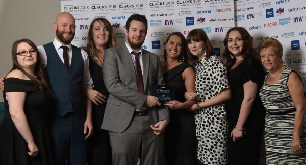 Makers Cafe Scottish Autism Clacks Business Award