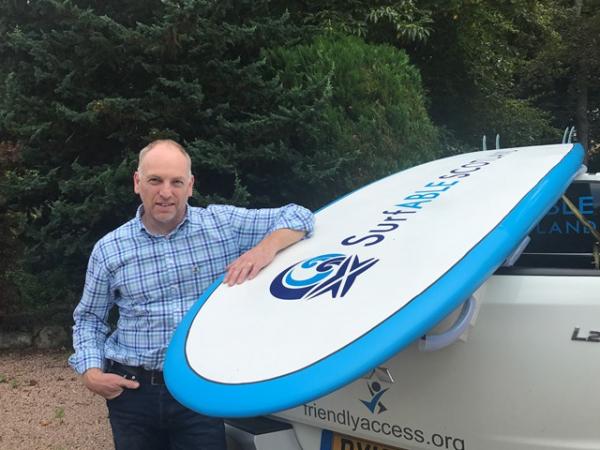 Glyn Morris, Friendly Access Founder
