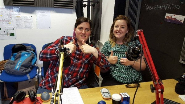 Sarah at SAM Radio