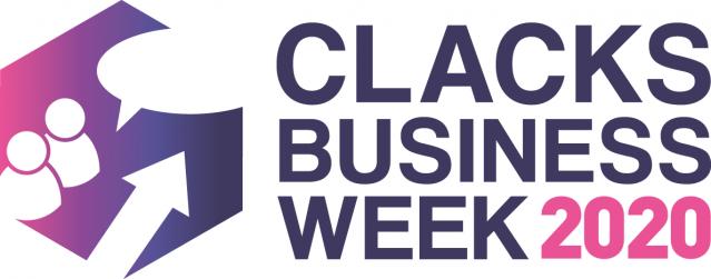 Clacks Business Week 2020 Logo