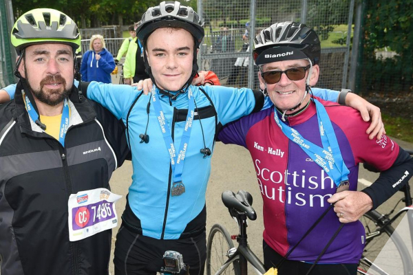 Cycling Challenges for Scottish Autism