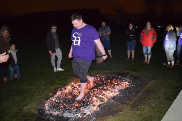 Superhero Firewalk Challenge