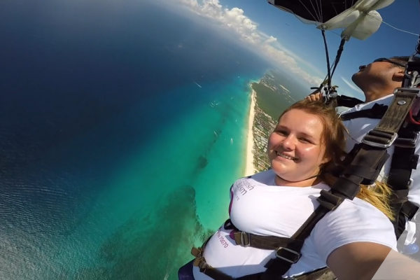 Megan Skydive