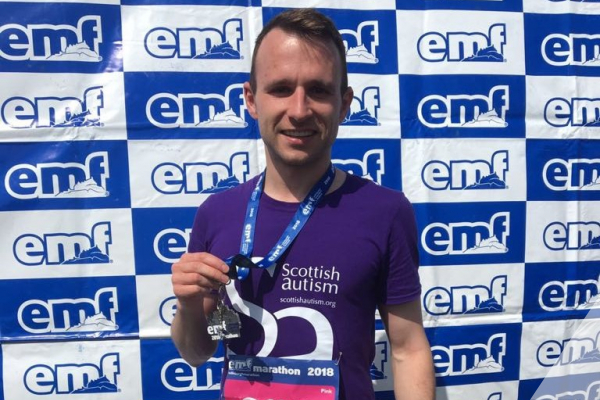 Edinburgh Marathon Supporter