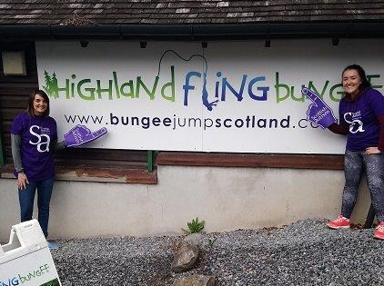 Supporters at Highland Fling