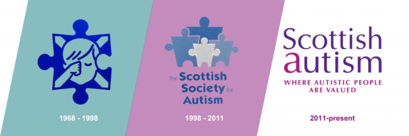 3 logos. Text: 1968-1998. 1998-2011. 2011-present.