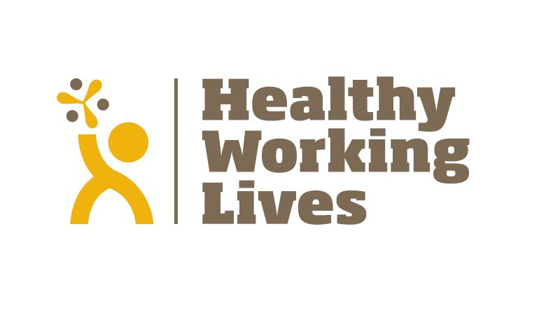 Scottish Autism Healthy Working Lives Logo