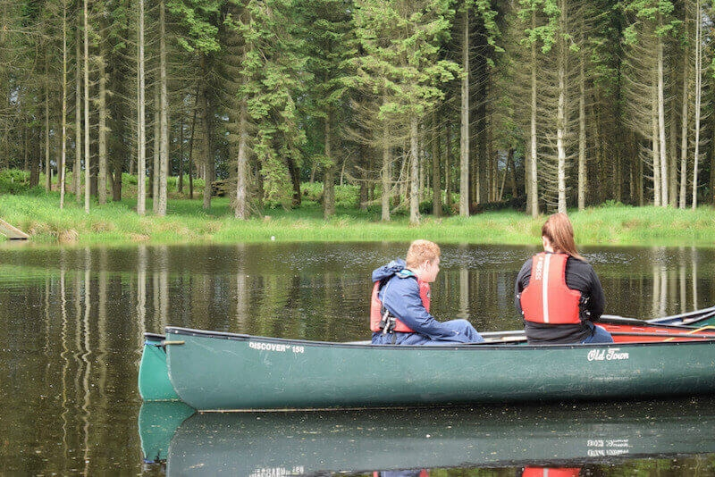 School trip to Lendrick Muir