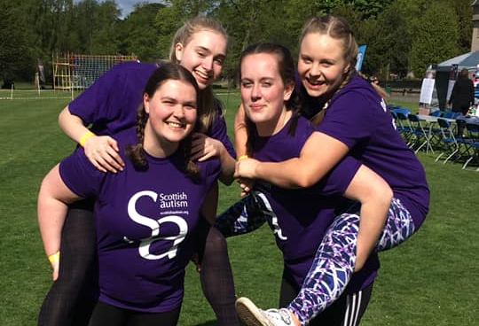 Cornhill Castle Team at Girls Big Dirty Day