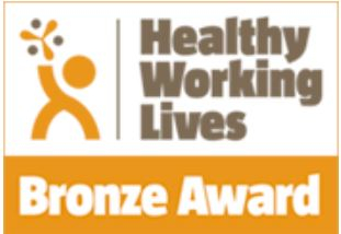 Scottish Autism Healthy Working Lives Bronze Logo