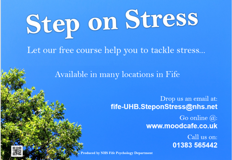 Fife NHS's Steps on stress course