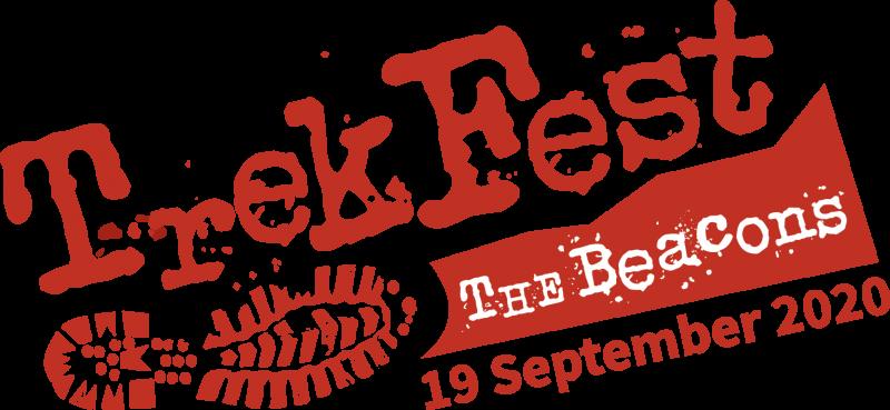 Trekfest 2020 logo - The Beacons - 19th September 2020