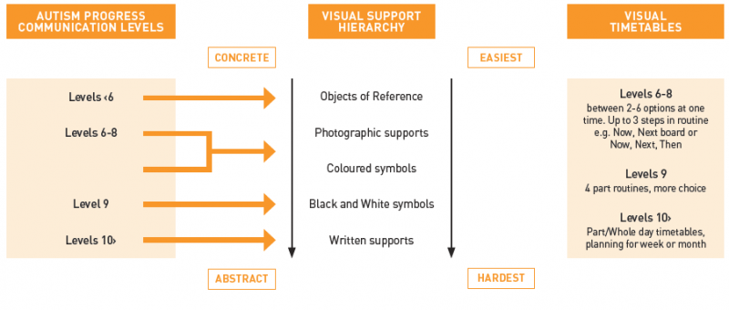 AIP Visual Support Hierarchy