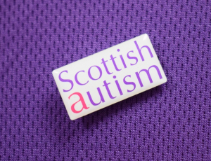 Scottish Autism Pin Badge