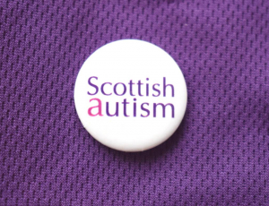 Scottish Autism Button Badge