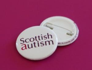 Scottish Autism Button Badge